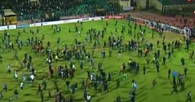 تفاصيل أحداث اشتباكات مباراة الأهلي