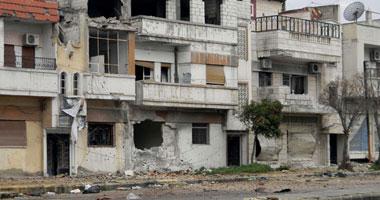 معارك عنيفة بأحد أحياء دمشق قوات الأسد والجيش السورى الحر