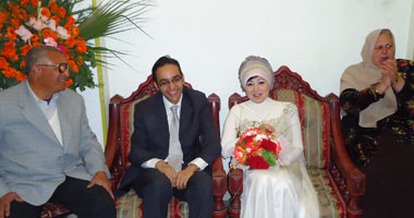 بالصور.. دكتور أحمد جودة يحتفل بخطوبته فى حفل عائلى