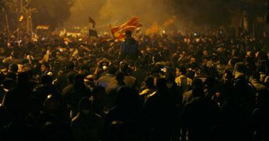 المظاهرات حول وزارة الداخلية