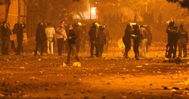 اشتباكات محيط وزارة الداخلية