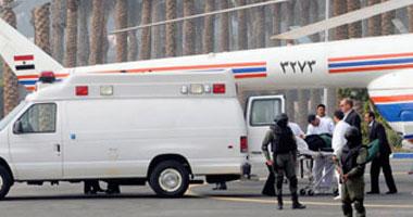 طائرة المخلوع تصل لسجن مزرعة طرة s22012811214.jpg