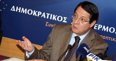 الرئيس القبرصى: التقسيم التركى لا يمكن أن يكون هو الحل فى البلاد