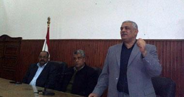 العميد زكريا أبو زينة مدير المباحث الجنائية ببنى سويف