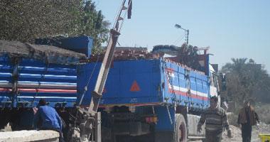 تعطل حركة قطارات الصعيد بسبب توقف سيارة بمزلقان فرشوط