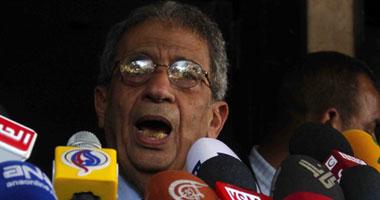 عمرو موسى: لم أكن محقاً فى رفضى إجراء انتخابات رئاسية مبكرة