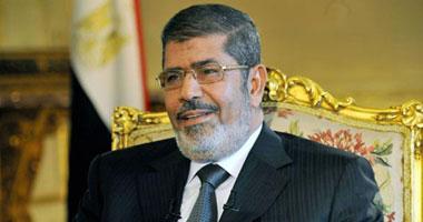 الرئيس مرسى يغادر مطار القاهرة