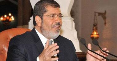 مرسى يشكر الوزراء الراحلين.. ويؤكد: