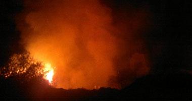 إجلاء سكان قرى شرق أسبانيا بعد اندلاع حريق فى المنطقة