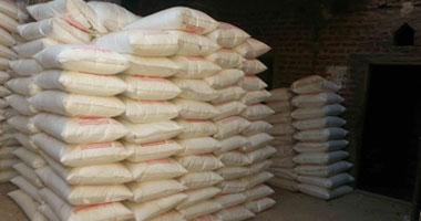 ضبط 160 طن أرز تم تجميعها داخل مضرب وطن لحوم فاسدة بالقليوبية