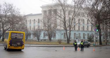 قوات روسية تسيطر على قاعدة جوية فى شبه جزيرة القرم الأوكرانية