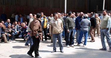 اعتصام 2000 عامل بمصنع الألومنيوم بنجع حمادى