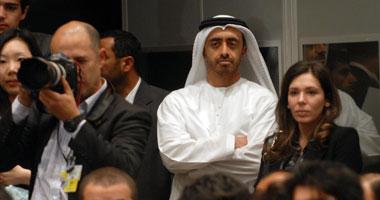 وزير خارجية الإمارات يغادر القاهرة عقب حضور الاجتماع الرباعى حول قطر
