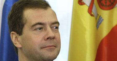 الرئيس الروسى ديميترى ميدفيديف