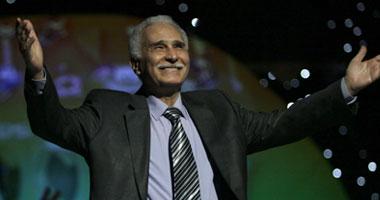 """بالفيديو..عقب تكريمه.. عبد الرحمن أبو زهرة: """"أوعدكوا إنى أموت على خشبة المسرح"""""""