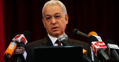 الدكتور هانى هلال وزير التعليم العالى