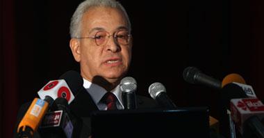 الدكتور هانى هلال وزير التعليم العالى والمشرف مؤقتا على وزارة التربية والتعليم