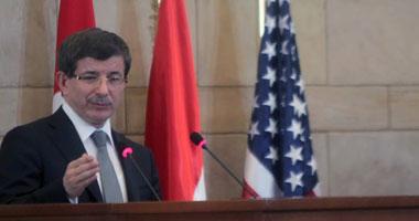 أحمد  داوود أوغلو وزير الخارجية التركى