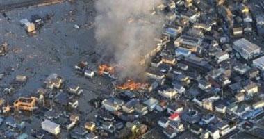 ارتفاع حصيلة ضحايا زلزال اليابان