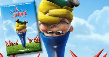 """""""Gnomeo & Juliet"""" الأول بإيرادات السينما الأمريكية S320111155644"""