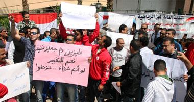 """الرياضيون الثوار لصقر: """"إحنا الانتفاضة.."""
