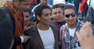 على حسين يحيى حفل شهداء الثورة بسفح الهرم S3201126221916