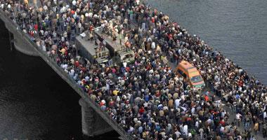 جانب من مظاهرات 25 يناير