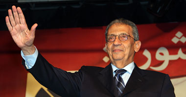 لقاء عمرو موسى بنشطاء نوبيين فى الجامعة العربية