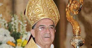 البطريرك المارونى اللبنانى بشارة بطرس الراعى