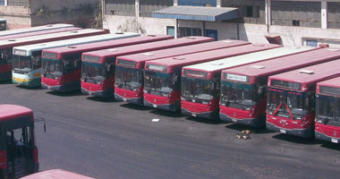 """""""النقل العام"""" تستبعد 420 أتوبيسا من الخدمة لعدم صلاحيتها"""