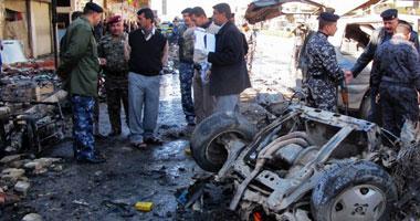 إصابة 4 أشخاص فى انفجار سيارة مفخخة بجراج سيارات جنوب غرب بغداد
