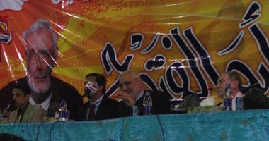 """""""أبو الفتوح"""": لن أتنازل لصالح أى مرشح إسلامى ولن أعفو عن مبارك  S32012215031"""