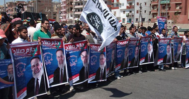 أبو إسماعيل : اللجنة الانتخابية تلعب الآن لاستبعادي واحذرها من إصدار قرار استبعادي بأوراقهم المزورة  S3201230165242