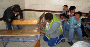 رصد 10 آلاف جنية لصيانة مدرسة الغطاس بمدينة ملوى لترميمها