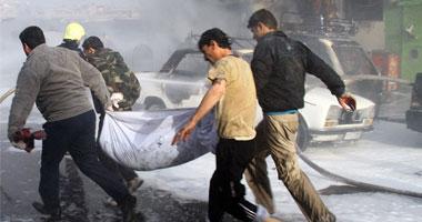 مقتل 42 مقاتلًا معارضًا وجهاديًا خلال اشتباكات فى ريف دمشق بسوريا