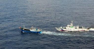 """مراكب تركية تتعرض لمضايقات من خفر السواحل اليونانى فى بحر """"إيجه"""""""