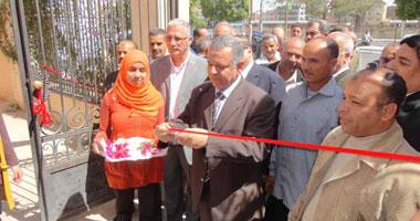 محافظ المنيا يفتتح منفذ بيع التقاوى التابع لمديرية الزراعة