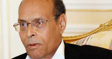 الرئيس التونسى محمد المنصف المرزوقى