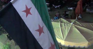 جانب من المظاهر السورية بأكتوبر