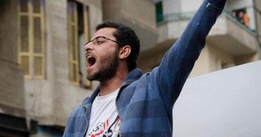"""الجنايات تلغى التدابير الاحترازية لـ""""زيزو عبده"""" عضو 6 إبريل وتجدد حبسه"""
