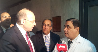 وزير الصحة الجديد يتفقد مستشفى المنيرة