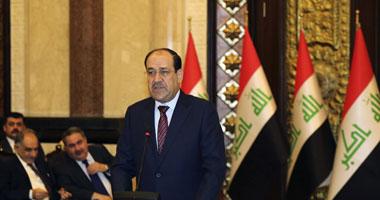 نورى المالكى يبحث ووزير الداخلية مستجدات الأوضاع الأمنية فى العراق