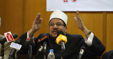 وزير الأوقاف يطالب بإصدار قانون لتنظيم شئون الفتوى لوقف فوضى الإفتاء