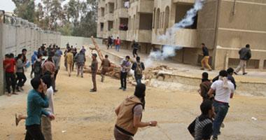 اشتباكات الأمن وطلاب الإخوان بالأزهر