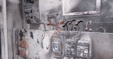 انقطاع الكهرباء عن حى شرق بورسعيد بسبب انفجار كشك كهرباء