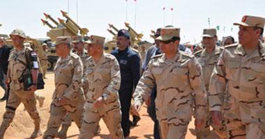 السيسى : تشكيل قوات التدخل السريع بالجيش المصرى انجاز تاريخى
