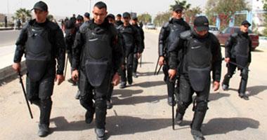 الأمن يلقى القبض على 20 من عناصر الإخوان بقرية دلجا فى المنيا