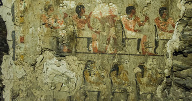بالصور.. اكتشاف مقبرة أثرية ترجع للأسرة الثامنة عشر بالأقصر