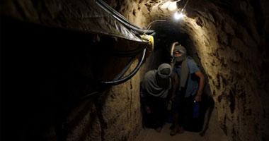 وفاة فلسطينى صعقا بالكهرباء داخل نفق