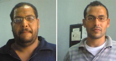 القبض على منفذى رسومات وسط البلد بلال محمد على محمود وأيمن رمضان